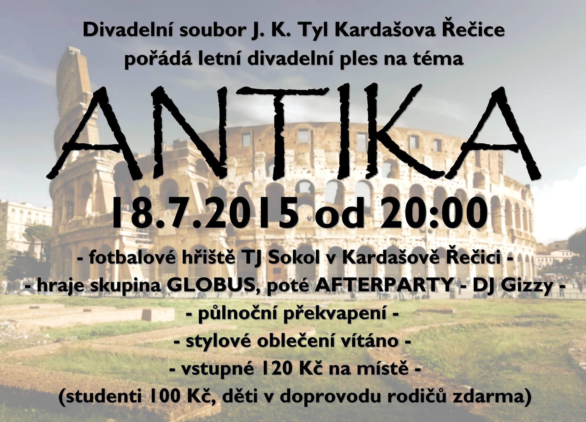 Letní ples Antika ( 2015 )
